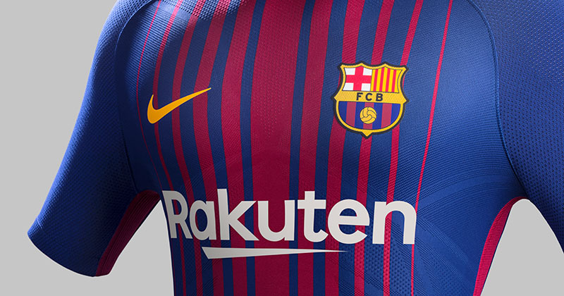 Image of Nike FC Barcelona 17/18 Home Shirt